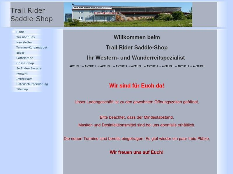 Screenshot von http://www.trailrider.de